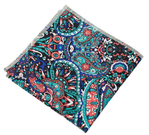 Wild Animal Pocket Square