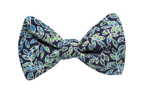 Gladys Navy Youth Bow Tie