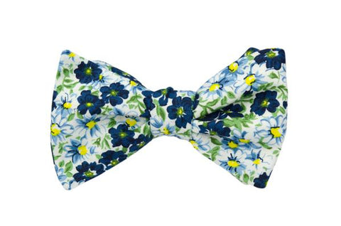 Blueberry Lemonade Youth Bow Tie