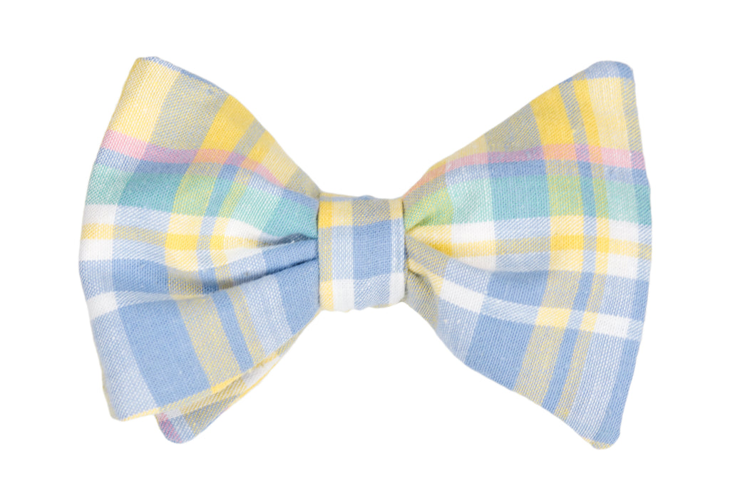 Picnic Plaid Adult Bow Tie