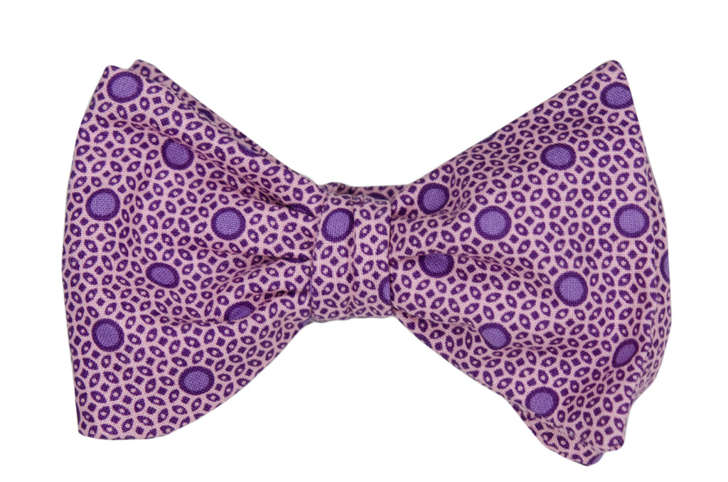 Purple Orchid Youth Bow Tie