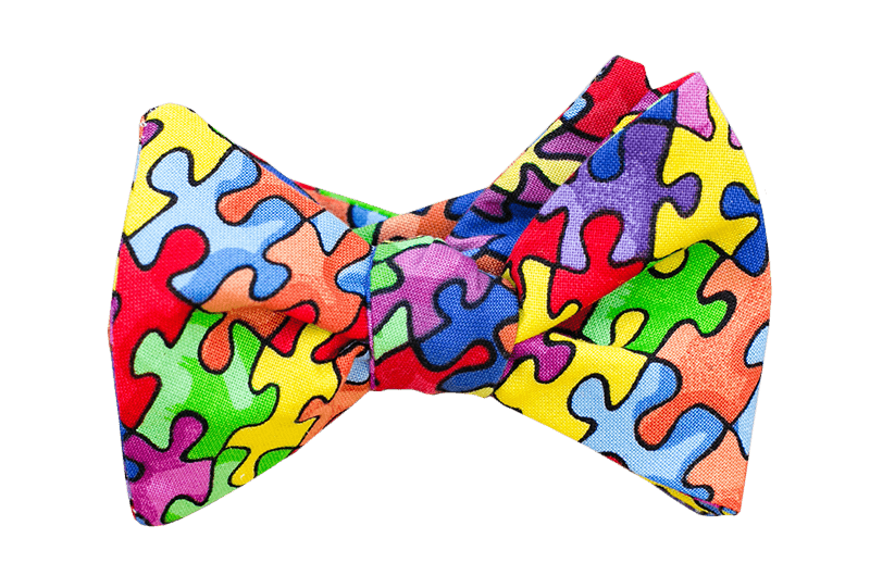 Pieces Peaces Youth Bow Tie