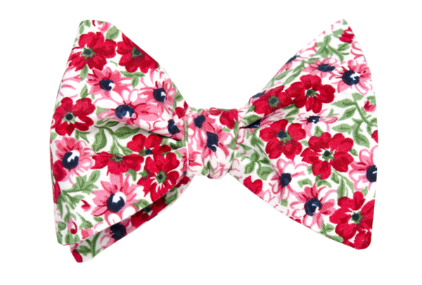 Rad Raspberry Youth Bow Tie