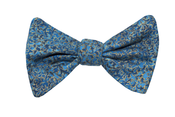 Renaissance Blue Youth Bow Tie
