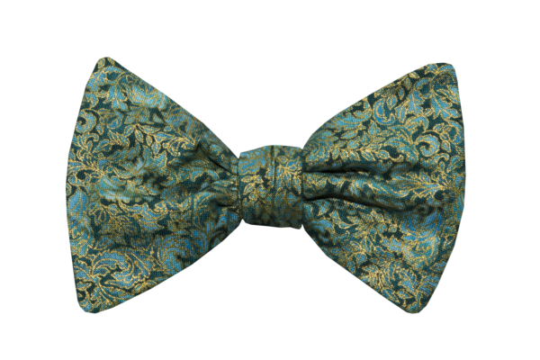 Renaissance Green Youth Bow Tie