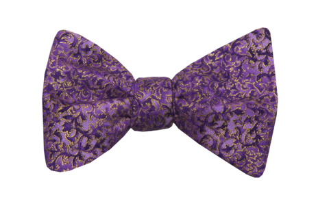 Renaissance Purple Youth Bow Tie
