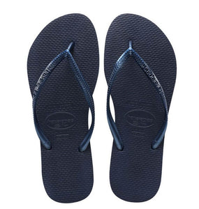 Slim Navy Sandal