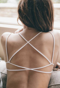 Criss Cross Backless Bralette