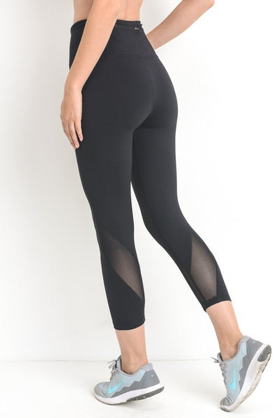 Wave Mesh High Waist Activewear