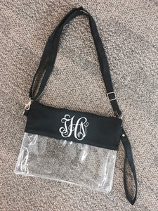 Stadium Bag with Vinyl Monogram