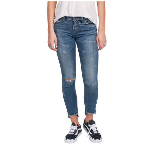 Silver Jeans - Calley Ankle Skinny