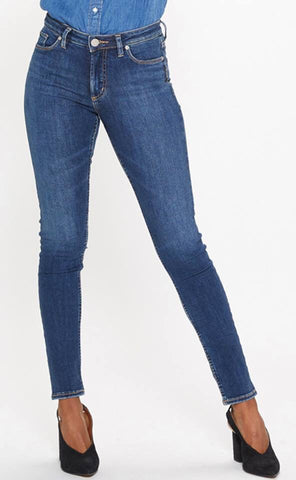 Silver Jeans - Bleecker Mid Rise Jeggings