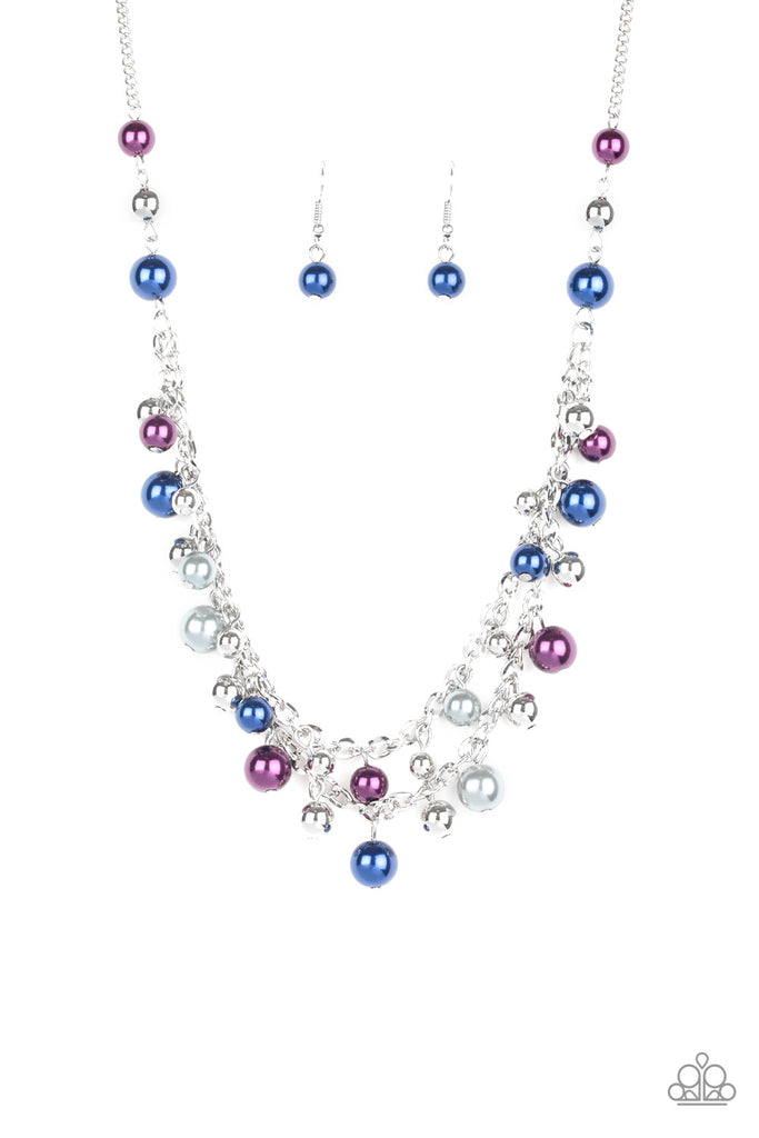 Paparazzi Fantastic Flair Multi Necklace & Earrings Set