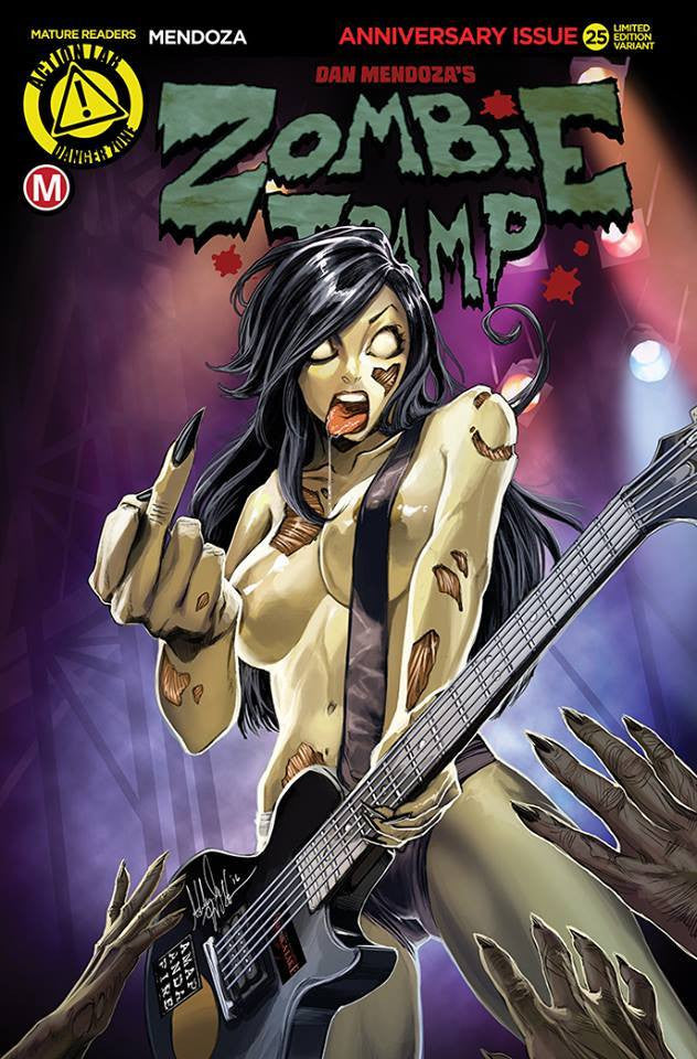 Zombie Tramp #25 AOD Variant by Ashley Witter