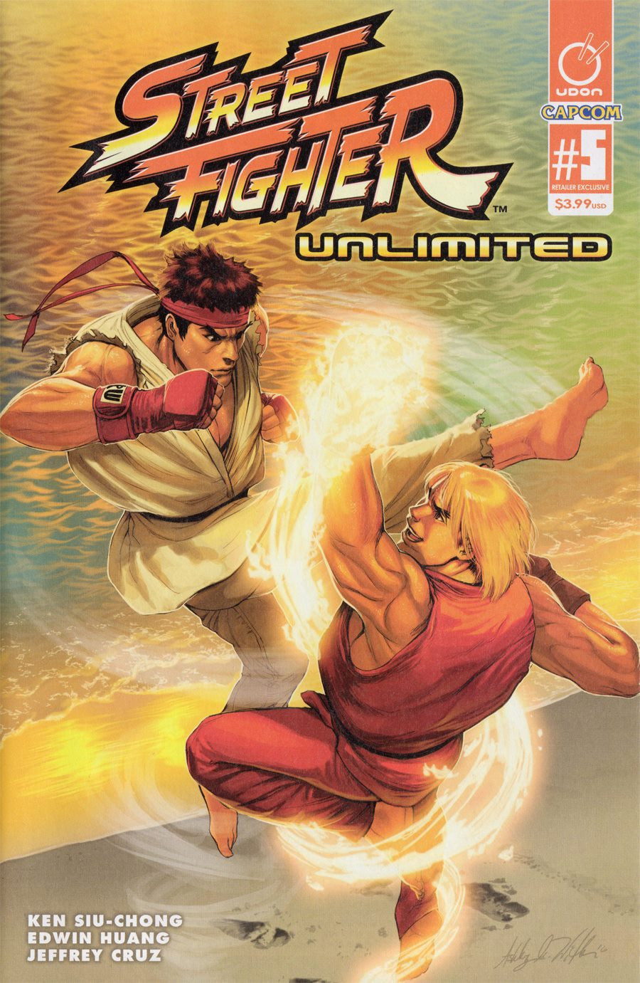 Street Fighter #5 AOD variant by Ashley Witter (color).