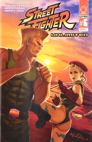 Street Fighter #6 AOD variant by Ashley Witter (color).