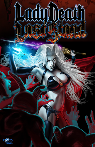 Lady Death: Last Stand Artwork Print