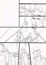Original Artwork Pages from Bloodthirsty