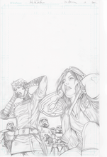Original Artwork Page for Doctor Aphra #17 Cover