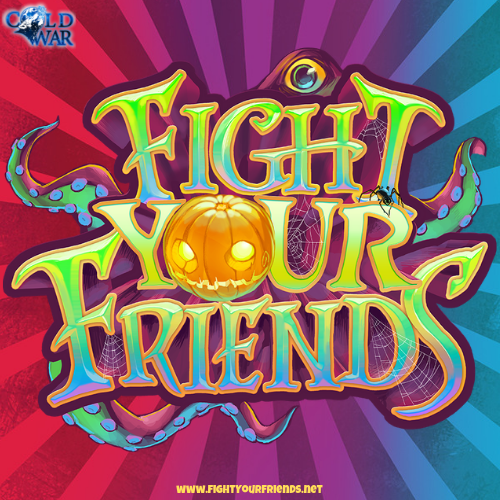 Fight Your Friends Logo Sticker
