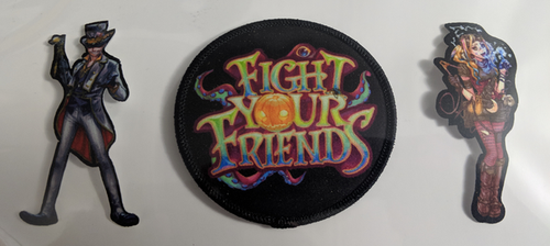 Fight Your Friends Patch Trio