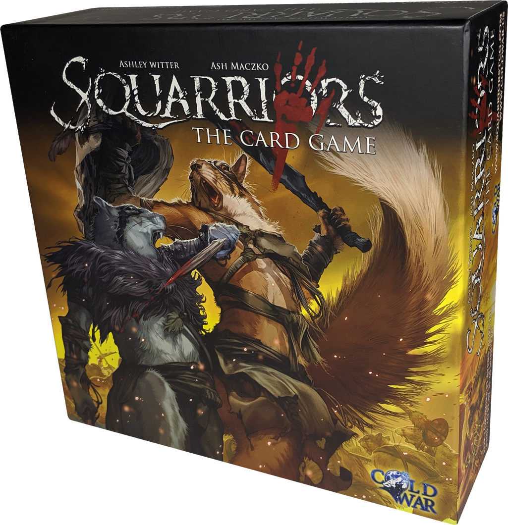 Squarriors The Card Game - Spring