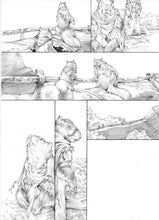 Original Artwork Pages from Squarriors Spring #1