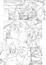 Original Artwork Pages from Squarriors Spring #2