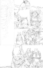 Original Artwork Pages from Squarriors Spring #3