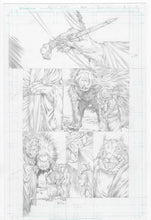 Original Artwork Pages from Squarriors Summer #1