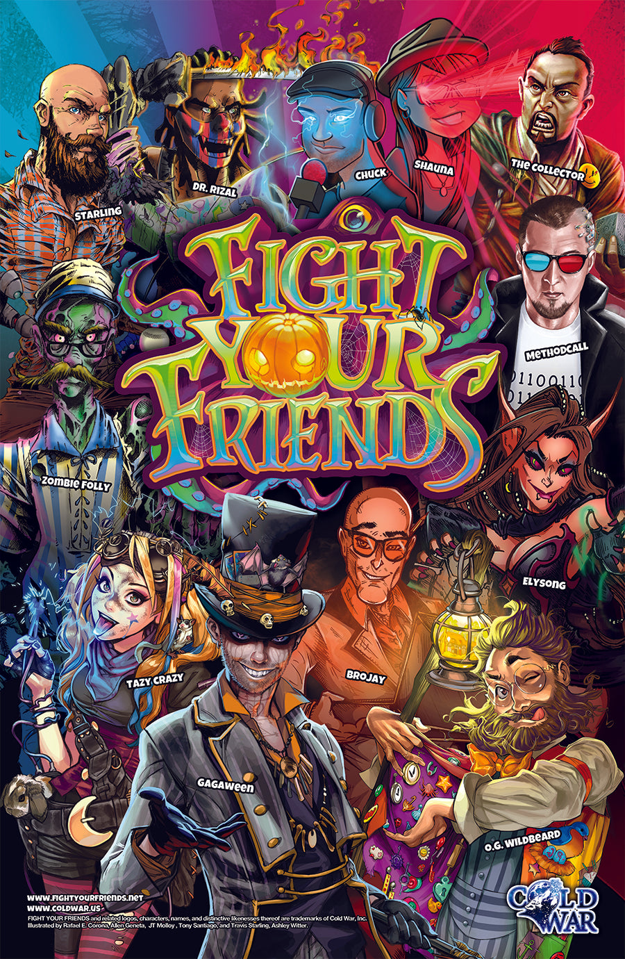 Fight Your Friends Artwork Print