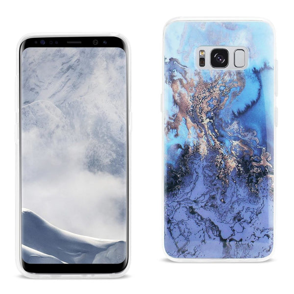 Samsung Galaxy S8 Edge- S8 Plus Azul Mist Cover In Blue