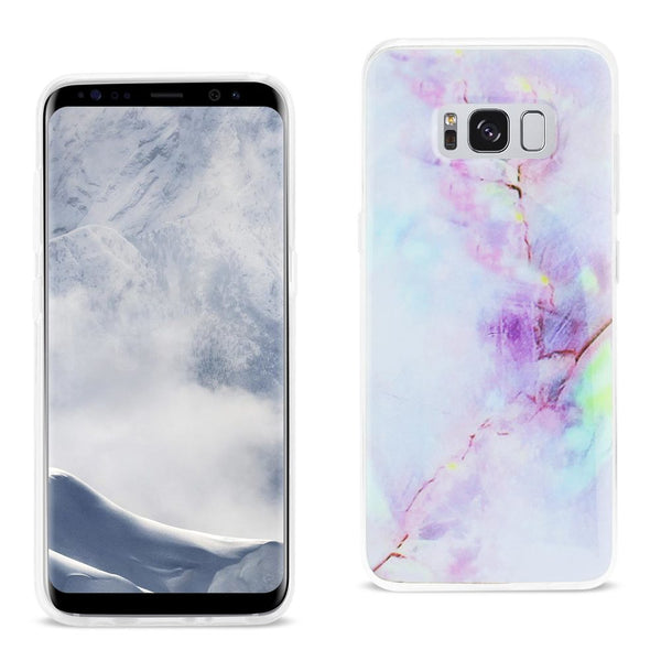 Samsung Galaxy S8 Edge- S8 Plus Opal Iphone Cover In Purple