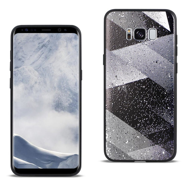 Samsung Galaxy S8 Edge Design Tpu Case With Shades Of Oblique Stripes