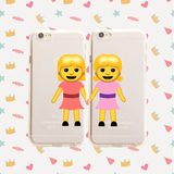 Best Friends Emoji Pair