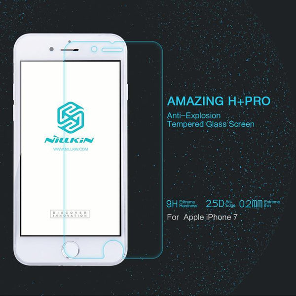 Nillkin H+ PRO 2.5D iPhone 7 Round Edge Tempered Glass Protector - The iPhone Case Co.
