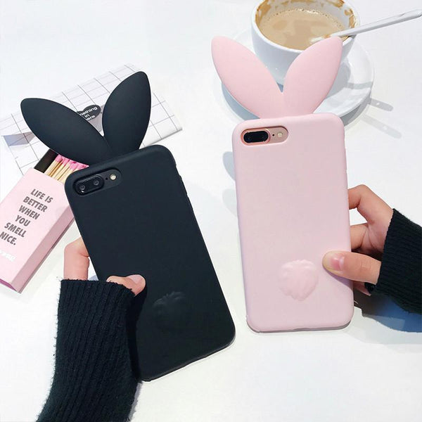 3D Cute Rabbit Ear Case - The iPhone Case Co.
