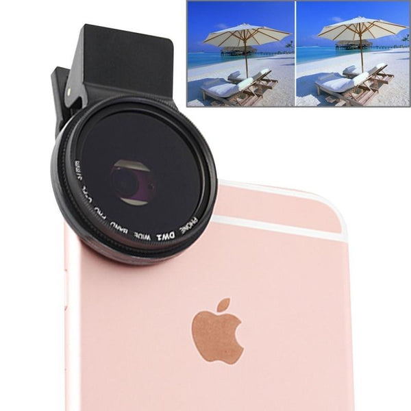 Universal Clip Polarizer 37mm 2.0X CPL Filter Phone Lens - The iPhone Case Co.