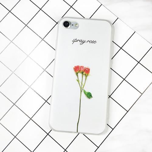 Floral Painted 3D Leaves Phone Case - The iPhone Case Co.