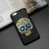 Handmade Diamond Eye Skull Case - The iPhone Case Co.