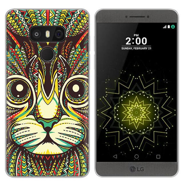 Cartoon Cat Case for LG G6