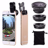 Fish Eye + Wide Angle + Macro 3 in 1 Mobile Phone Lens - The iPhone Case Co.