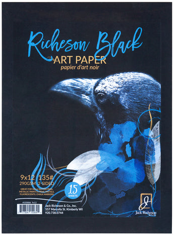 Richeson Black Art Paper