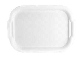 White Plastic Trays