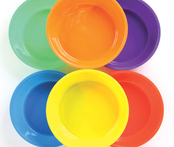 Colored Sorting Bowls