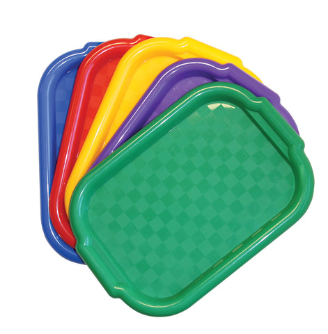 Multi Color Trays Set/5