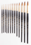 Sable Watercolor Brushes - Series 6228-9