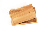 Wood Brush Boxes