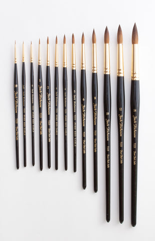 Sable Watercolor Brushes - Series 7223