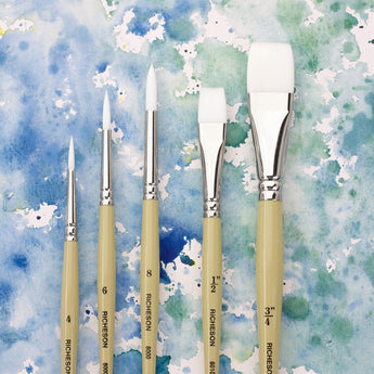 Synthetic Watercolor Brushes - 8000 Series Set/5